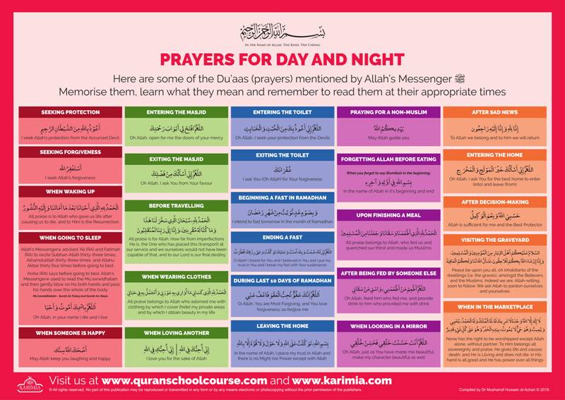 Prayers for Day and Night
